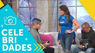 Le proponen casamiento a Yessenia Cossío en nuestra casa   Un Nuevo Día   Telemundo