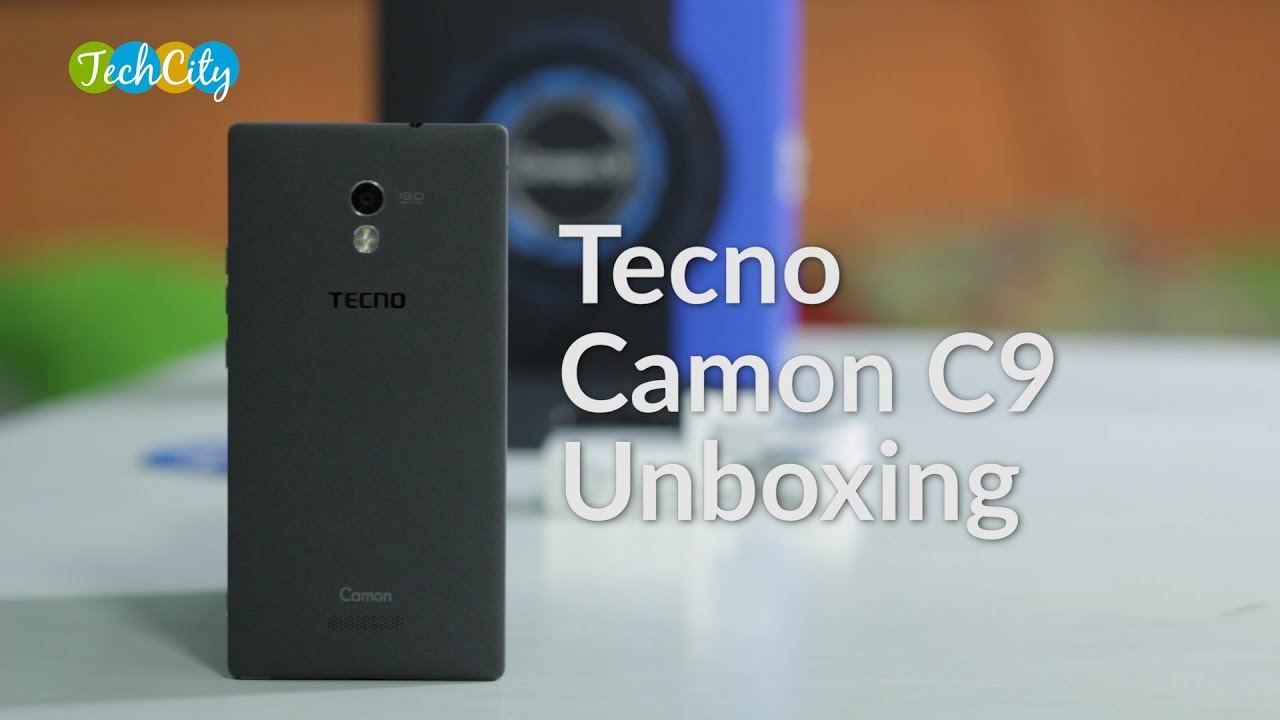 Tecno Camon C9 Unboxing Youtube