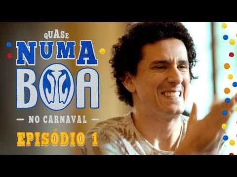 Eduardo Sterblitch e Rafael Portugal em #QuaseNumaBOA - No Carnaval | Ep.1 | BOA