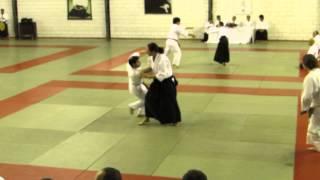 Presentación Club de Aikido Ingeniería Universidad de Chile en Sao Paulo 2014