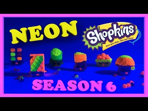 Shopkins Season 6 | DIY Glow in the dark...
