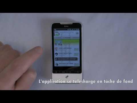 HTC Legend - Installer une application depuis le Market