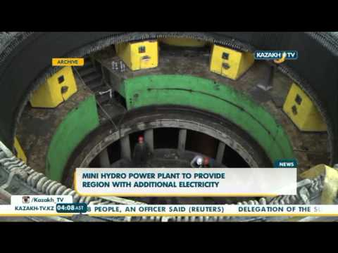 Mini hydro power plant to provide region with additional electricity - Kazakh TV