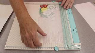 Crankin' Out Crafts - ep532 Wę R Memory Keepers Cut and Trim Score Board