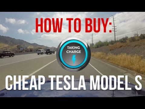 How to Get a Cheap Tesla Model S