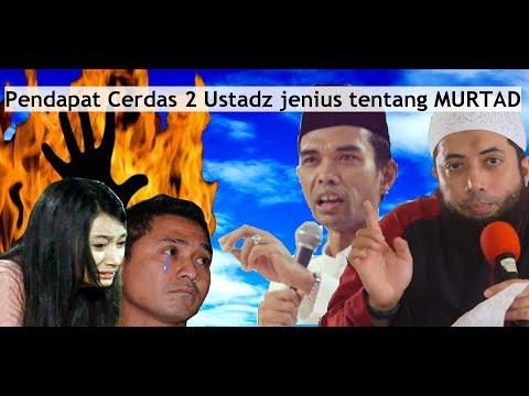 Pendapat Ustadz Abdul Somad & Khalid Basalamah Tentang Murtad..Asmirandah Lukman Sardi..
