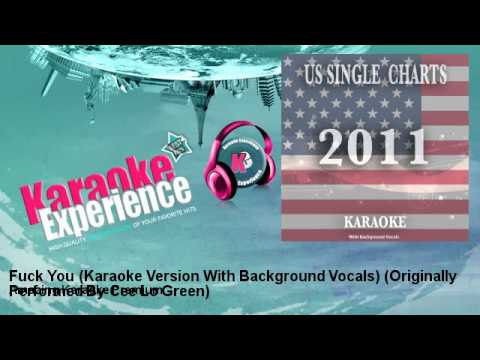 Amazing Karaoke Premium - Fuck You (Karaoke Version With Background Vocals)