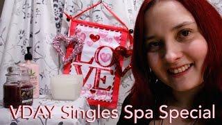 ♡ VDAY Singles Spa Special (ASMR) (Soft Spoken) (RP) ♡
