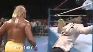 Hulk Hogan vs  Big Boss Man December 17 1988