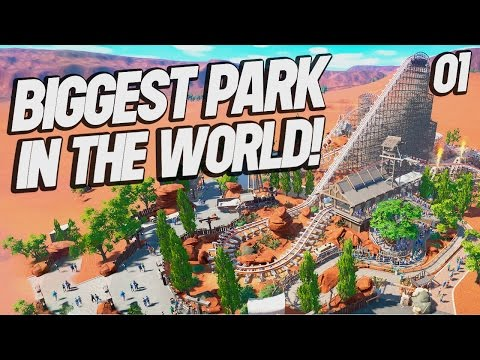 Planet Coaster : Biggest Park in the World 01 (Planet Coaster Gameplay)