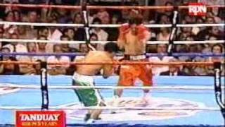 Pacquiao vs Lucero (Part I) - July 2003