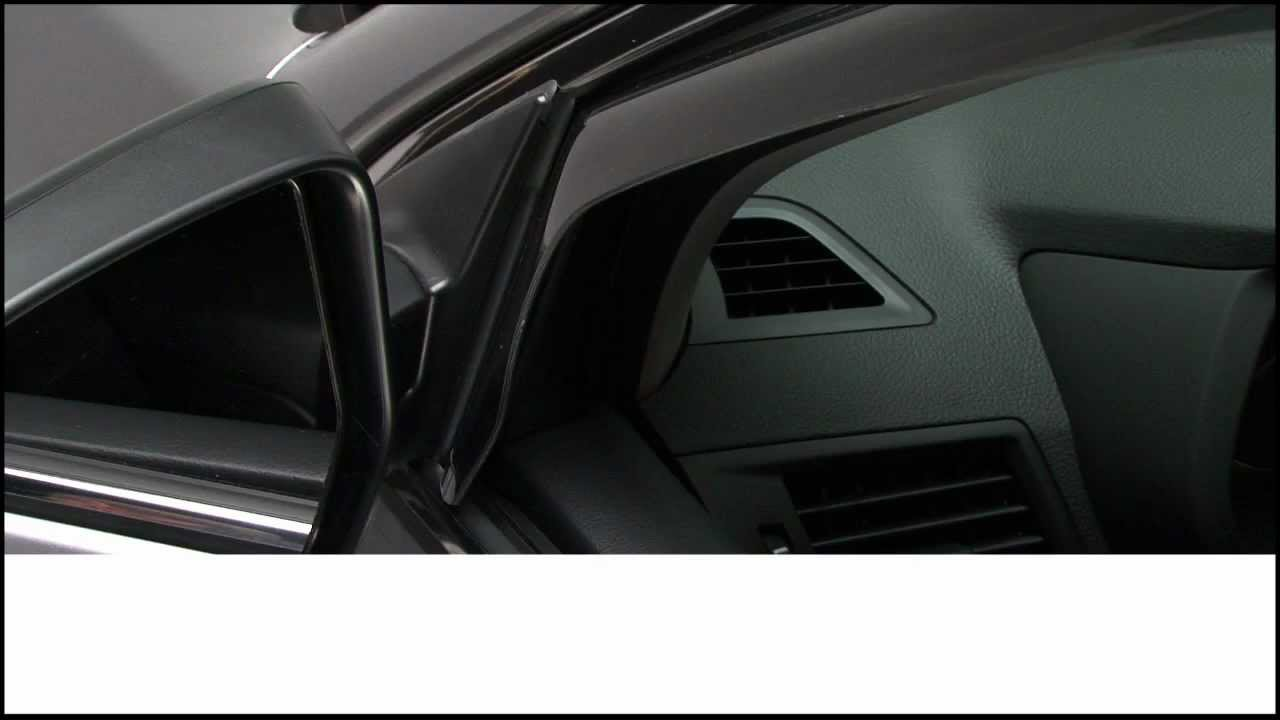 Weathertech Side Window Deflector Installation Video Youtube