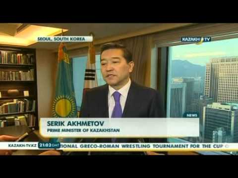 Kazakhstan and South Korea sign a number of agreements