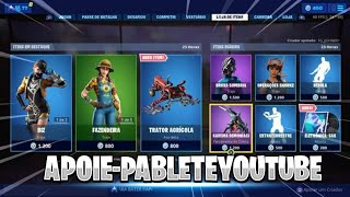 Fortnite today's shop 23/06 NEW SKINS + GIFT CARDS SWEEPSTAKES