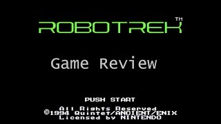 SNES Game Review - RoboTrek Emulated on Playstation Classic