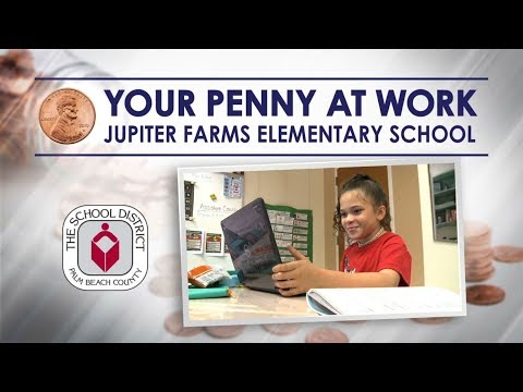 Your Penny at Work: Jupiter Farms Elementary School