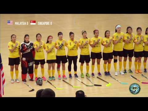 Women's WFCQ 2017 - 2 Feb Malaysia v Singapore