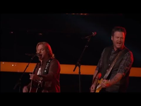 Craig Wayne Boyd - Boots On with Blake Shelton (The Voice 2014 Finale)