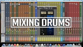 How to mix a Punjabi song | Mixing drums [Pro Tools]
