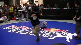 BEST8-3 Nao vs Ko-suke -RED BULL STREET STYLE Japan Final 2012-