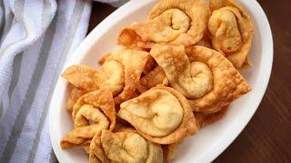 অনথন বানানোর পারফেক্ট রেসিপি | Fried Wonton | Crispy Wonton | Perfect Wonton Recipe