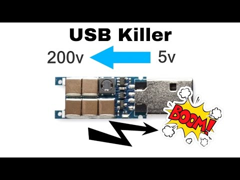 Destroy Any Computer Mobile With $3 USB KiIler !: 5 Steps