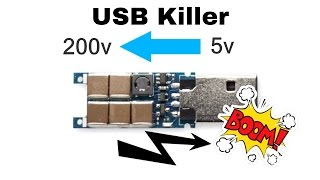 What is a USB Killer? and How it works? USB Killer Protection ?