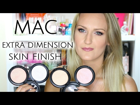 MAC Extra Dimension Skin Finish | Review & Swatches