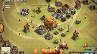 Clash of Clans 3. Bölüm (yan köy)