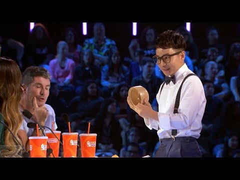 America's Got Talent 2017 Hilarious Magician Jeki Yoo Judge Cuts S12E10