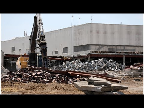 Mid-century San Jose Mercury News building demolished