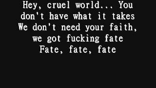 Marilyn Manson - Hey, Cruel World (Lyrics)