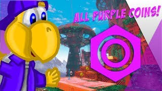 Wooded Kingdom Purple Coin Guide ll Super Mario Odyssey: Road To 100%