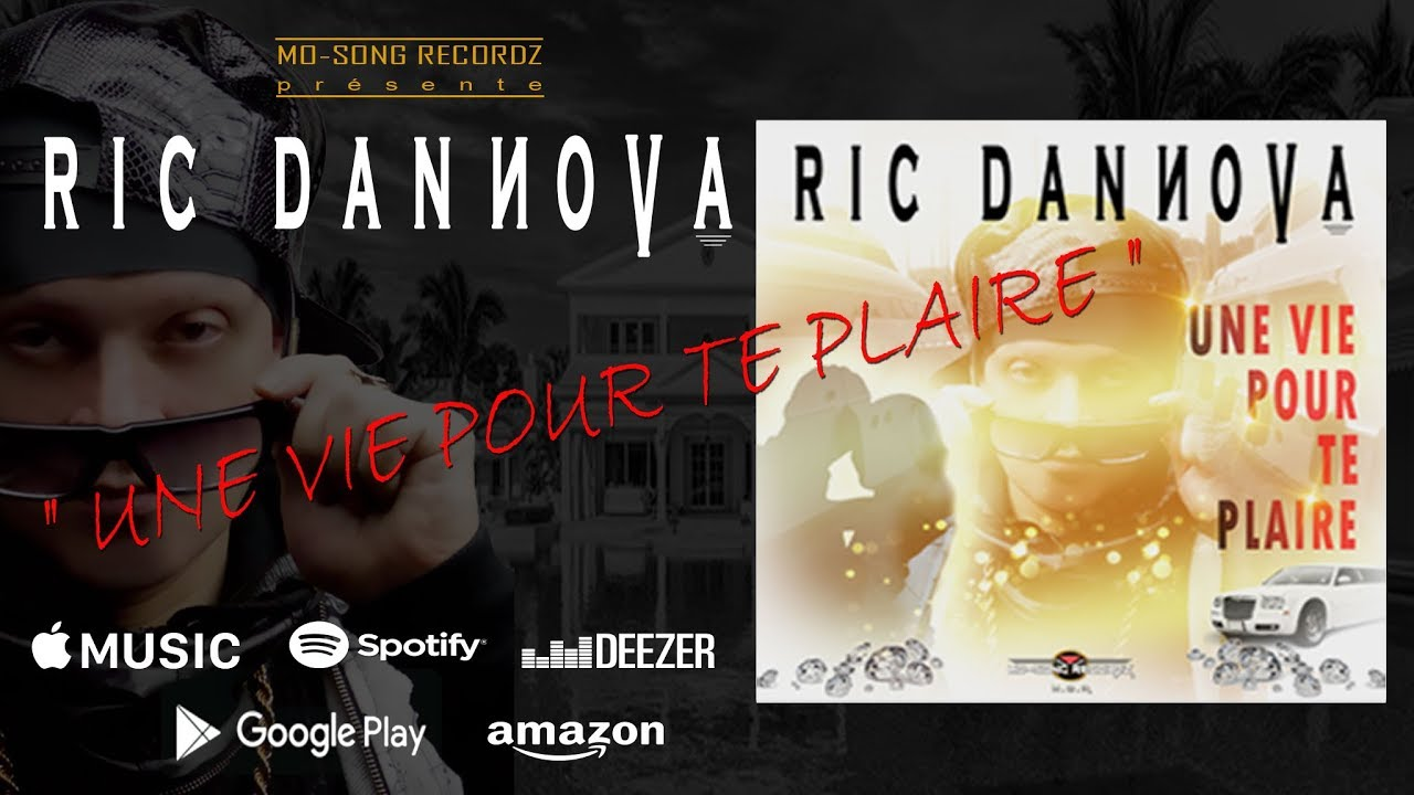 RIC DANNOVA / Une Vie Pour Te Plaire (Short Edit) #ricdannova _ Audio - YouTube
