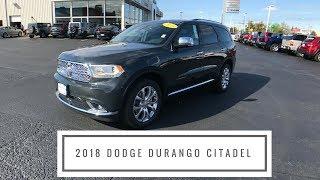 2018 Dodge Durango Citadel features at Anderson Dodge in Rockford, IL