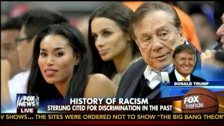 Donald Trump Speaks On Donald Sterling and His Girlfriend