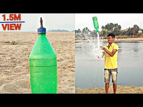 Water Bottle Rocket Making And Testing By Why Not Experiment