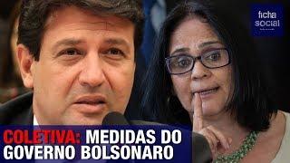 COLETIVA DE IMPRENSA DO GOVERNO JAIR BOLSONARO - DAMARES ALVES, MANDETTA E OUTROS MINISTROS
