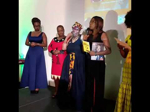 Bebe Clement at African Women in Europe Awards