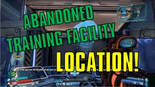 Borderlands The Pre Sequel: Abandoned Training Facility Location! (Shock Drop Slaughter Pit)