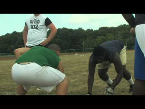 Nicholas Nerolien - Linemen Combine King -  NUC Ultimate 100 East Football Camp