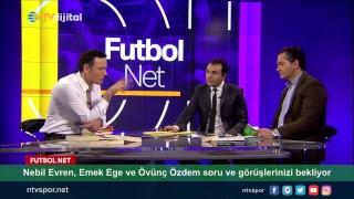 [CANLI] Nebil Evren, Emek Ege ve Övünç Özdem Futbol Net'te soru ve görüşleriniz bekliyor