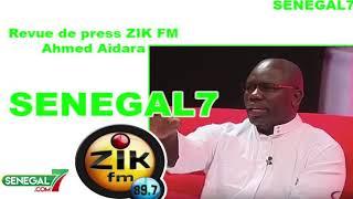 Revue de presse Zik-fm du 26 juin 2019 avec Ahmed Aidara