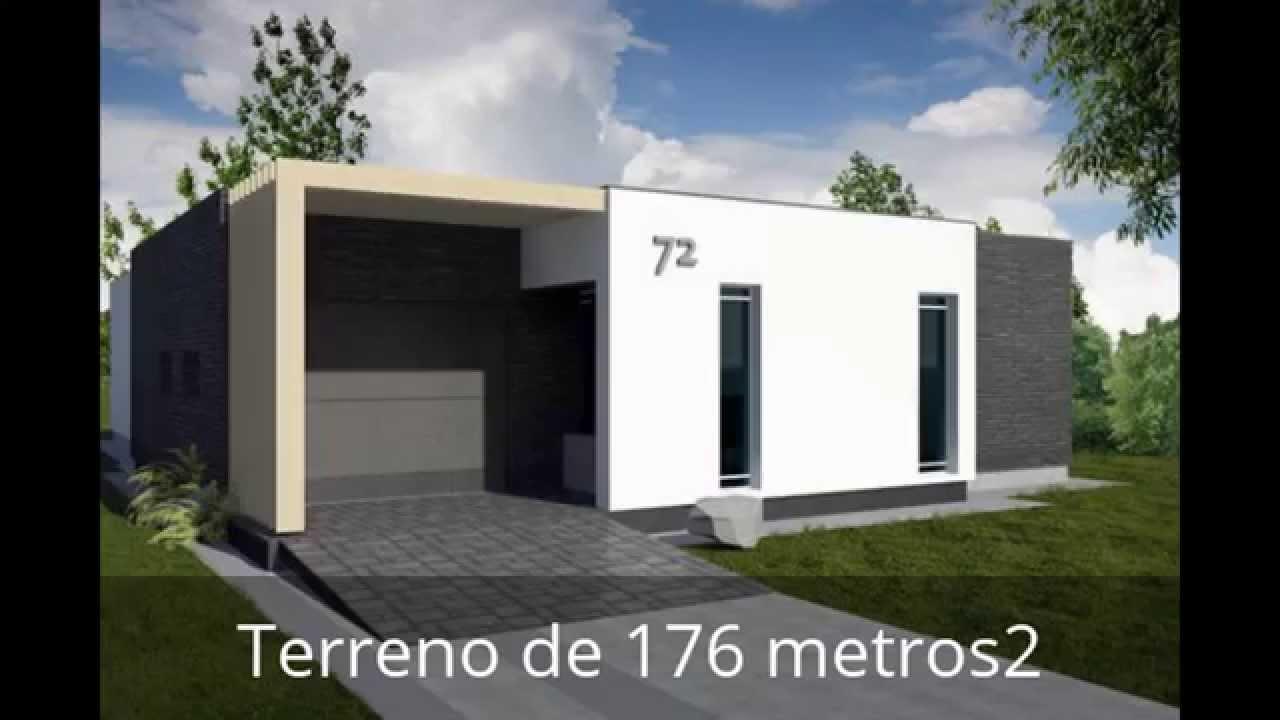 Dise o de una casa moderna de 175 metros cuadrados youtube for Casa moderna 50 metros cuadrados