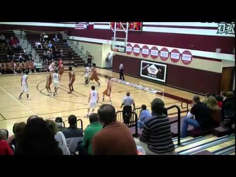 Round Rock HS vs  Westwood HS (12/21/12) - Leonard Allen (7'0/220 C)