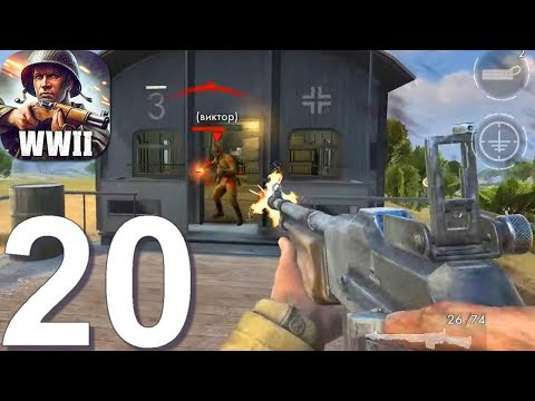 World War Heroes: WW2 Shooter - Gameplay Walkthrough Part 20 - New Update (Android, IOS)