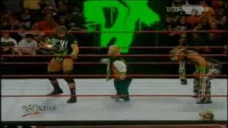 WWE/DX Funny Moments (Triple H Pedigree