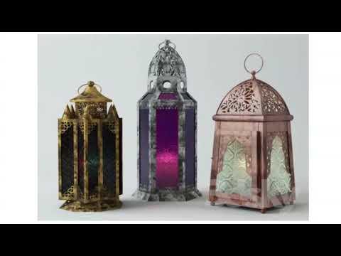 "Free New 3D Models   "" Islamic Arabic Ramadan Lights "" Group 5 3ds Max Vray High Quality"