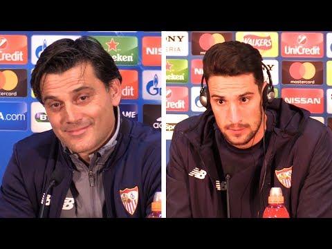 Vincenzo Montella & Sergio Rico Full Pre-Match Press Conference - Manchester United v Sevilla