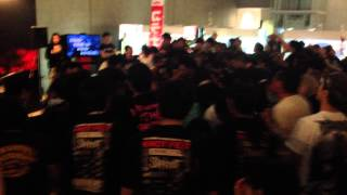 Hocho Hasami Cutter Knife Dosu Kiri (by MAXIMUM THE HORMONE) Karaoke SlipKnoT 's KNOTFEST JAPAN 2014